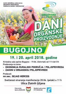 BUGOJNO dani organske proizvodnje 2018