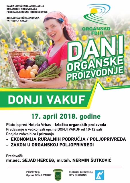 DONJI VAKUF dani organske proizvodnje 2018