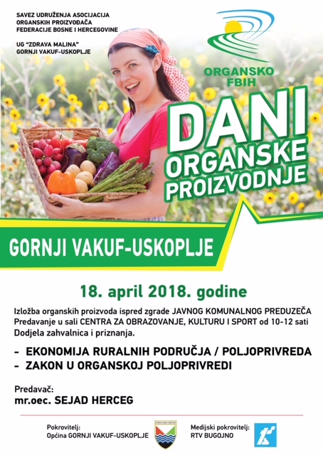 GORNJI VAKUF dani organske proizvodnje 2018